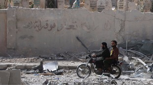 Thousands in the east of Aleppo remain without running water