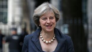 David Cameron suggested Theresa May was