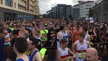 Thousands turnout for half marathons across the West