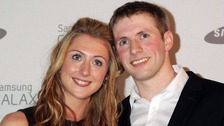 Golden cycling couple Jason Kenny and Laura Trott marry