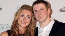 Golden Cycling Couple Laura Trott and Jason Kenny get married