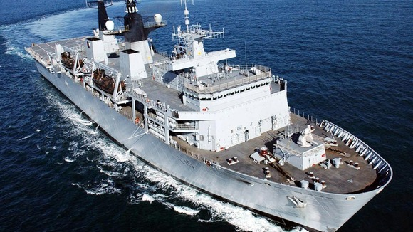 Undated Ministry of Defence handout picture of HMS Bulwark