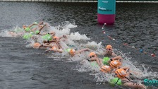 British Open Water Swimming Championships held in Hyde Park