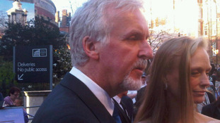 James Cameron speaks to ITV's Nina Nannar