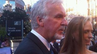 James Cameron speaks to ITV's Nina Nannar