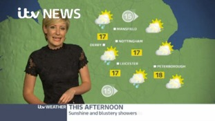East Midlands Weather: Cloud and any rain clearing to blustery showers