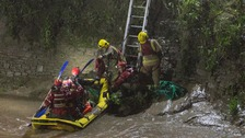 Dramatic river rescue in Bristol