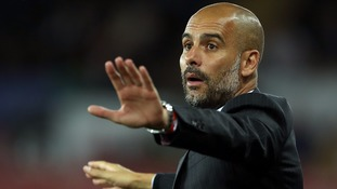 Guardiola happy to go 'game by game' at Manchester City
