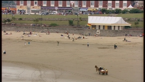 Barry Island beach
