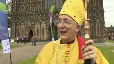 New bishop of Lichfield officially installed in role