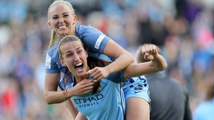 Manchester City crowned Women's Super League champions