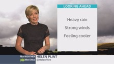 Wales Weather: Strong winds and heavy rain!