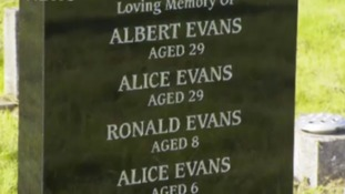 A crowdfunding page raised money to buy a grave plot and headstone for the family.
