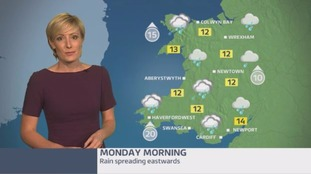 Wales weather: Chilly and wet!