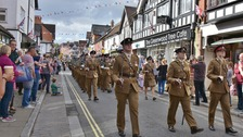 VIDEO: Freedom Parade takes place in New Forest