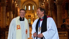 Fr Edward O'Donnell (left) has been appointed as an honorary Ecumenical Canon.