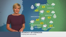 Wales Weather: a wet and chilly start to the week!
