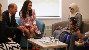 Duke and Duchess of Cambridge meet Syrian refugee family in Canada