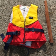 One of the lifejackets washed up