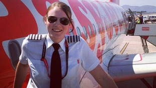 Kate McWilliams the world's youngest commercial airline captain
