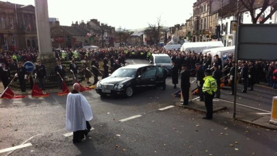 Funeral skipton thursby