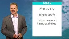 Simon has the latest weather