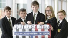 'Unity in football' promoted by pupils in new project