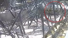 Alton Towers: CCTV showing Smiler crash released