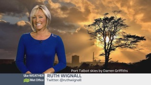 Wales Weather: Heavy rain eases overnight!