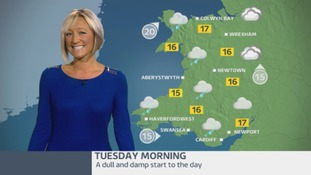 Wales Weather: Dull and damp to start but a better afternoon!
