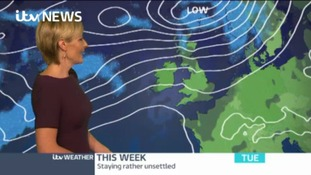 Weather: Afternoon update with Helen Pitt