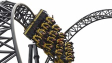 The Smiler ride at Alton Towers has since been closed.