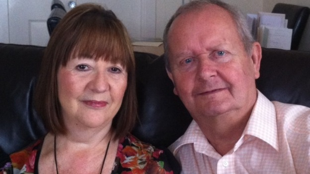 Both Sheila and John are on the road to recovery after the life-saving operation