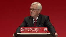 McDonnell: Labour would enshrine 'real living wage' in law