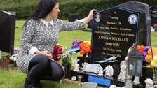 Jordan's grieving family urge young drivers to focus