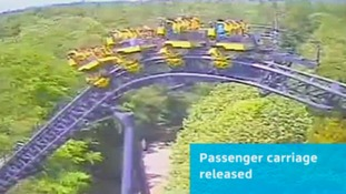 First CCTV of Alton Towers Smiler ride crash released