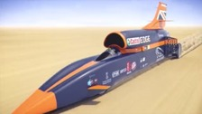 Supersonic car back on track for 1000mph record
