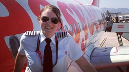 High-flying Kate is world's youngest airline captain