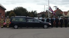 Alan Soards's Funeral
