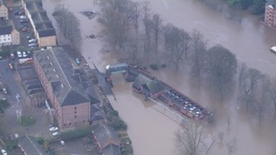 Last year's floods were too much for the Foss Barrier.