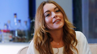 Actress Lindsay Lohan visits Syrian refugees in Turkey