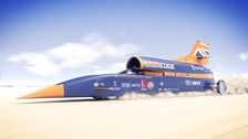 It's hoped the Bloodhound will exceed 1000mph