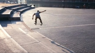 Skateboarding prodigy's new film showcases Bristol
