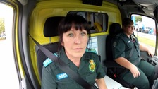 Karen Lott almost lost her life when she tried to help an unconscious man