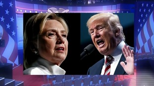 US presidential candidates set for first election debate in front of record-breaking audience