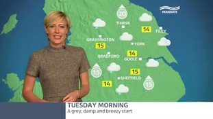 Early morning weather forecast with Helen Plint