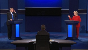 US presidential candidates take part in first election debate