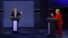 Clinton and Trump trade blows in first election debate