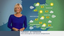 Wales Weather: A dull and damp start turning drier and brighter later