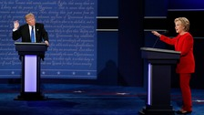 Clinton and Trump trade blows in first presidential debate